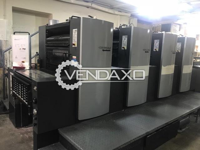 Heidelberg SM-74-4 Offset Printing Machine - 4 Color