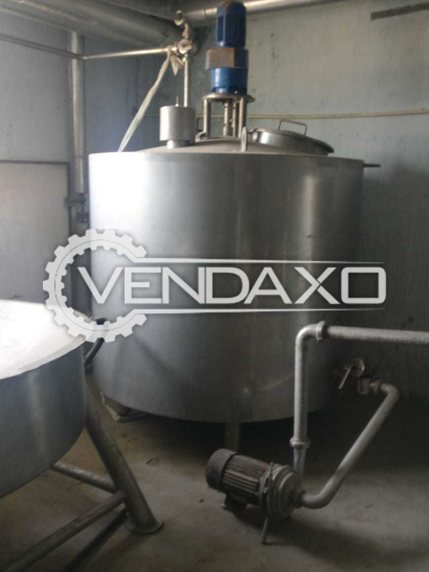 Available For Sale Milk Plant - 3000 Liter With Milk Processing , Ghee Section and Curd Section