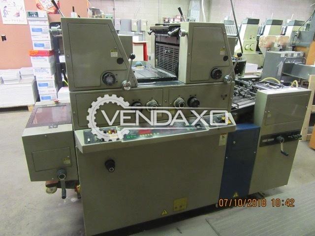 Ryobi 3302M Offset Printing Machine - 2 Color