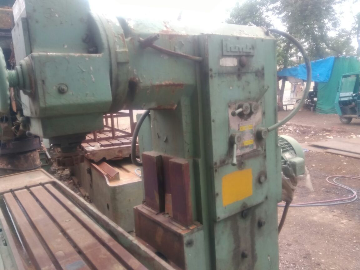 Milling machine size  3
