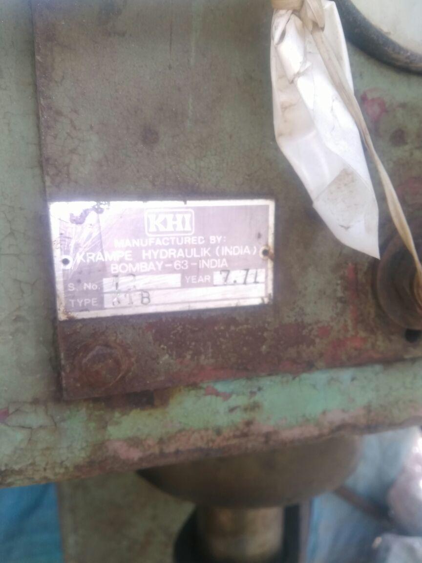 Hydraulic press 1 20ton