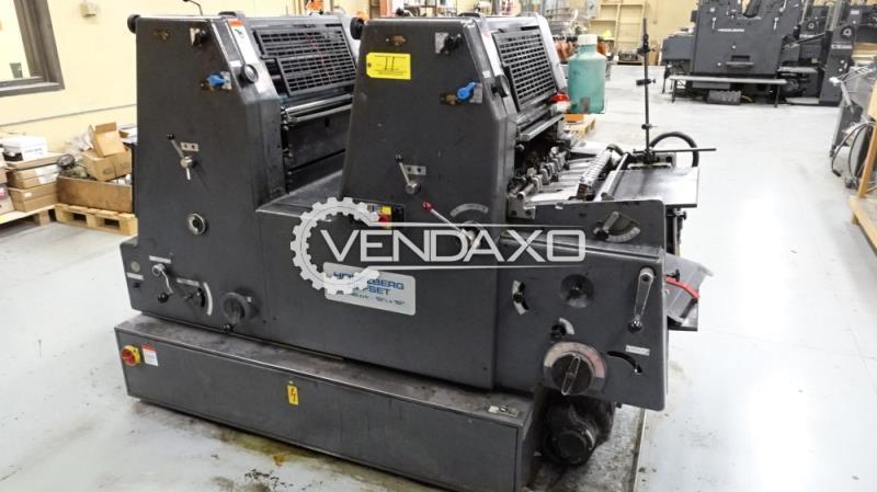 Heidelberg GTOZ Offset Printing Machine - 2 Color
