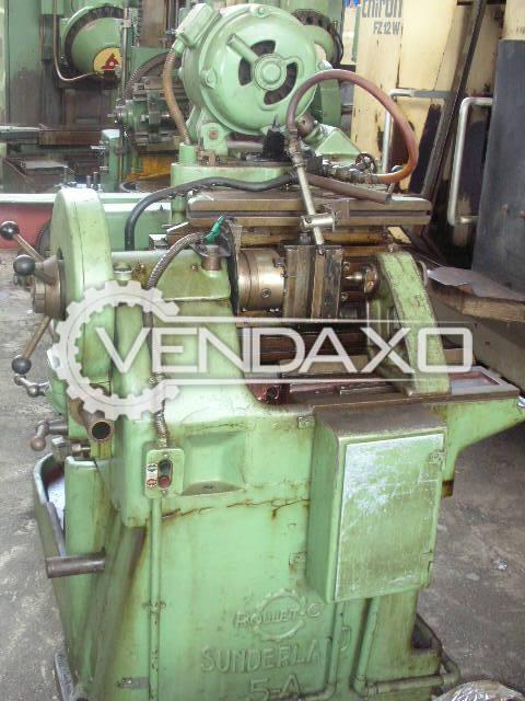 Sunderland 5A Gear Shaping Machine - Diameter - 300 mm