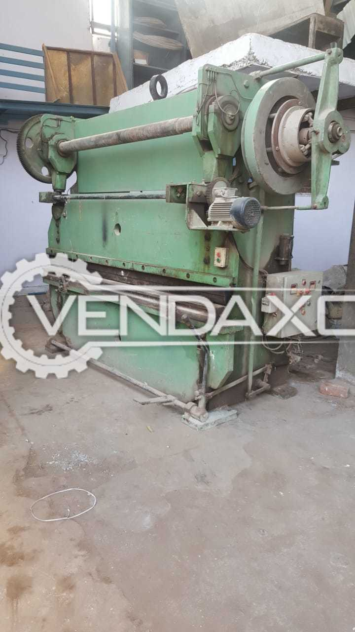 Bending Machine - 2500 mm With 3 Extra Punch