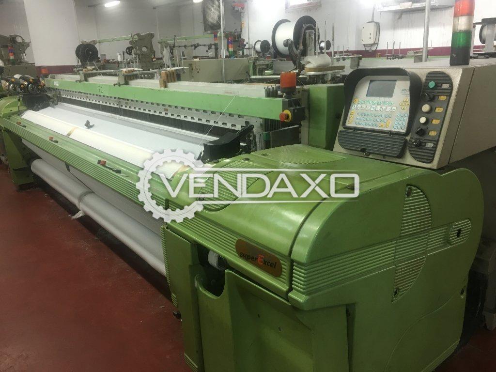 Available For Sale 10 Set of Somet Excel Rapier Loom Machine - Width - 3600 mm