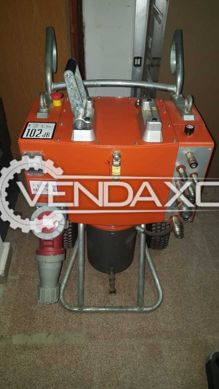 Husqvarna PP-455 E Electrically Powered Hydraulic Unit - Pressure - 230 Bar