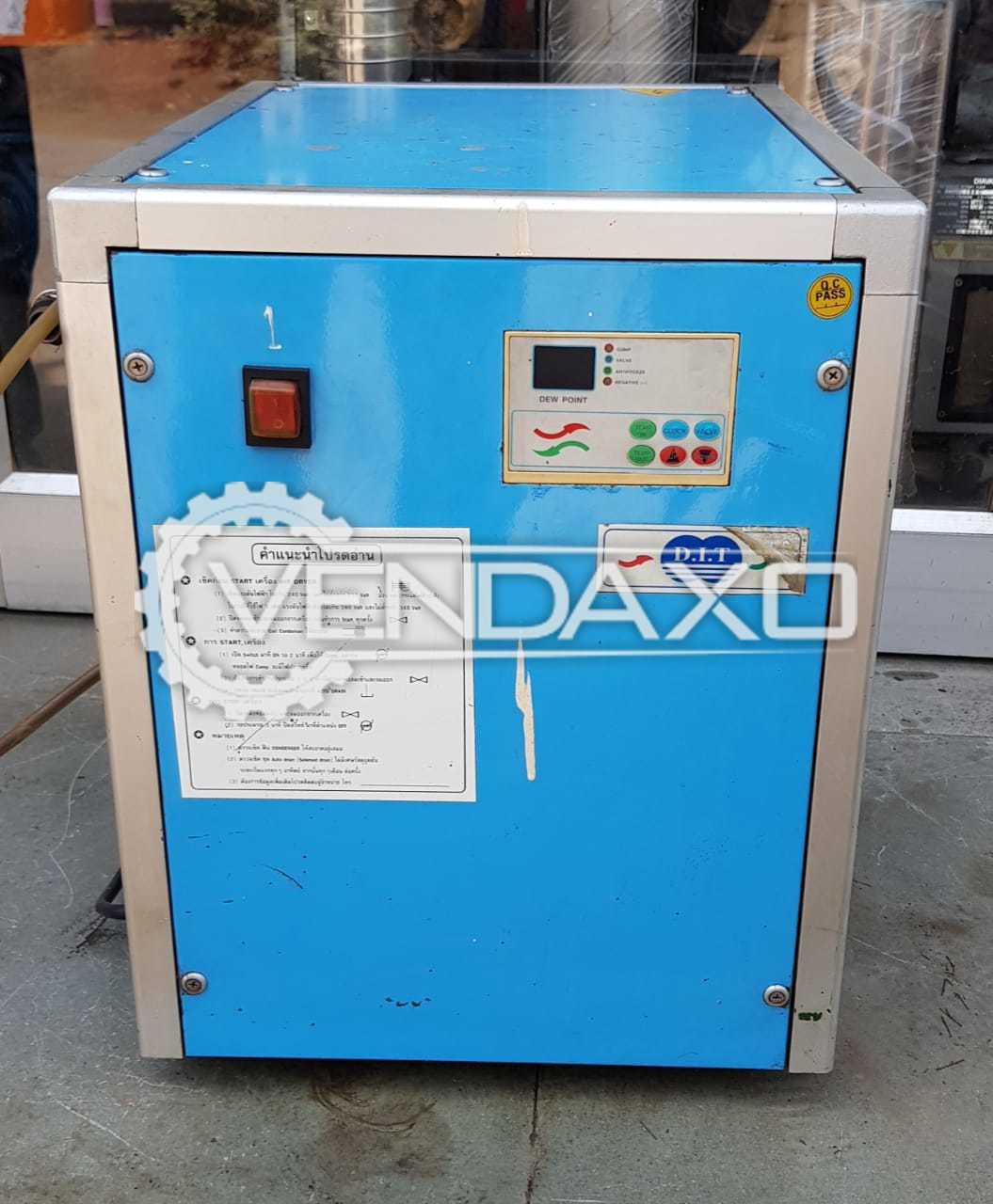 DIT CDT-8T Air Dryer Compressor - Flow capacity - 31 CFM