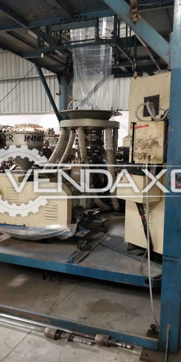 Windsor Multi Layer LDPE Machine - 60 to 70 Ton Per Month