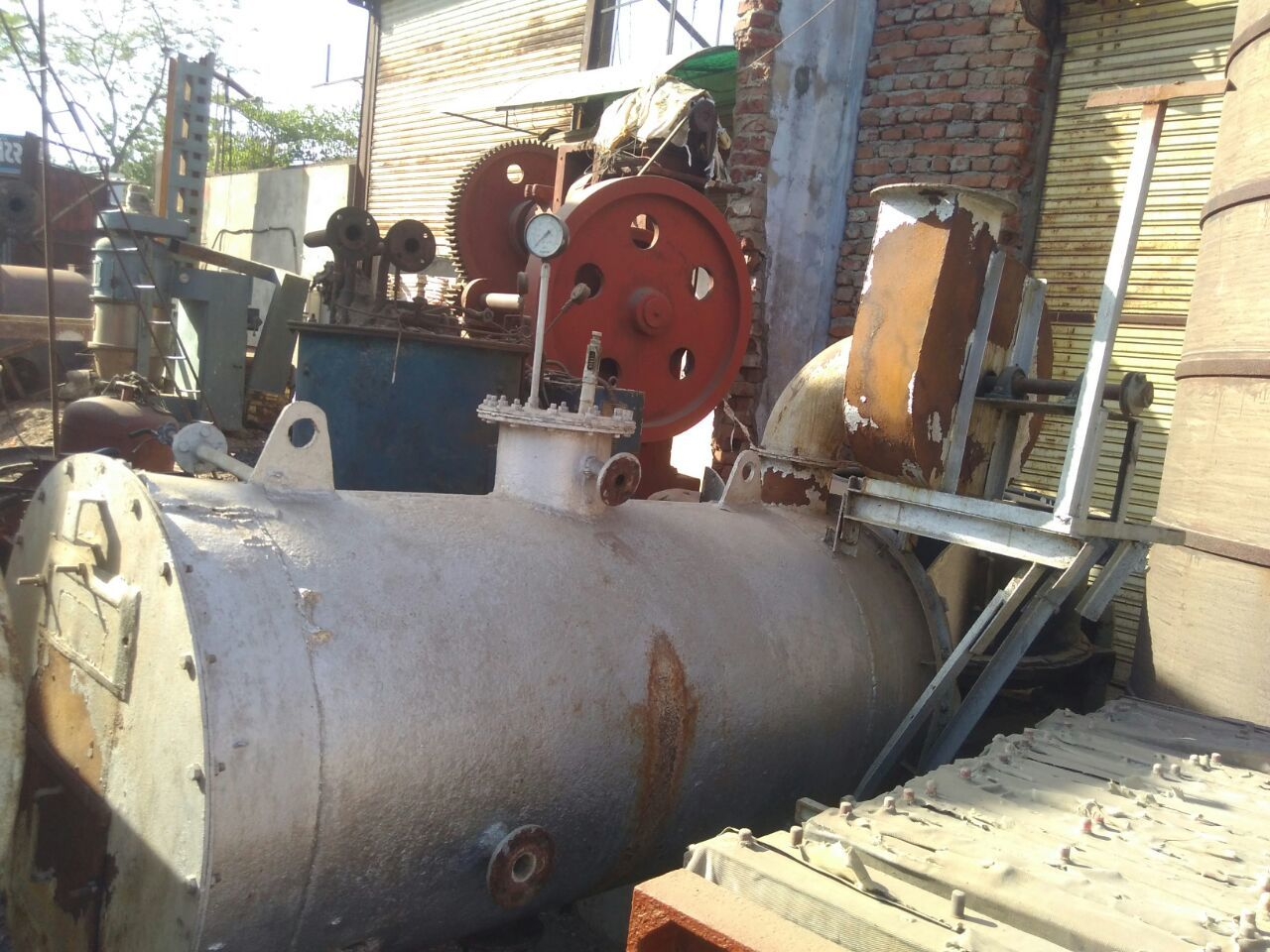 Imported Steam Boiler with motor pump