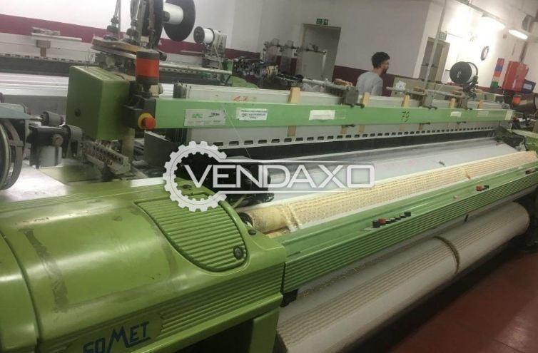 SOMET Super Excel Rapier Loom Machine - Width - 3600 mm With Staubli