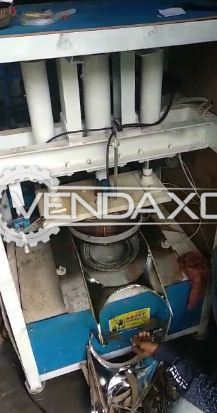 Fully Automatic Paper Plate Making Machine - 600 Plates Per Hour With Raw Materials