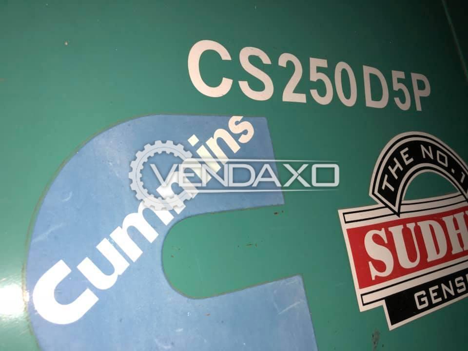Cummins Diesel Generator - 250 Kva With Canopy