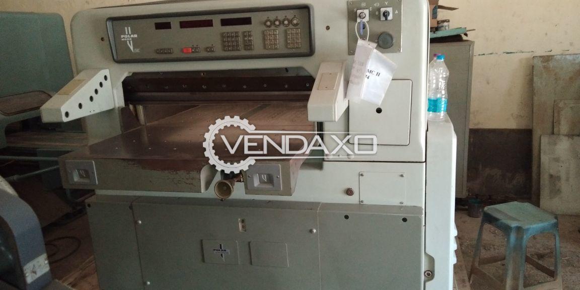 POLAR 92 EMC Paper Cutting Machine - 36 Inch
