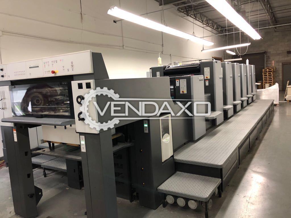 Heidelberg SM-74-6-L Offset Printing Machine - 6 Color