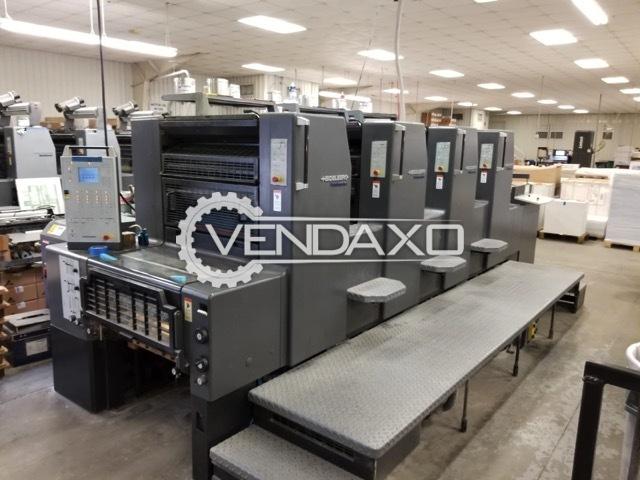 Heidelberg PM-74-4 Offset Printing Machine - 4 Color