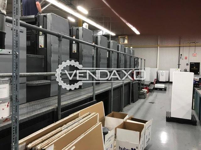 Heidelberg CD-102-7-LX Offset Printing Machine - 7 Color
