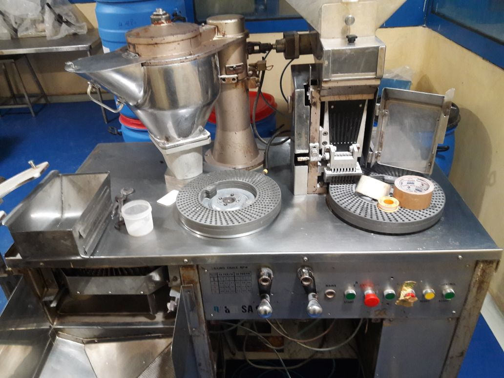 used capsule filling machine