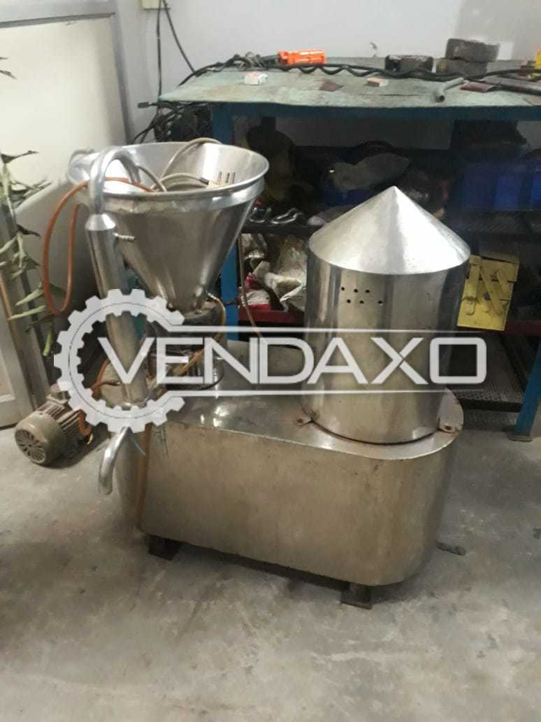 Horizontal Colloid Mill Machine - Gmp Model - Motor - 5 HP