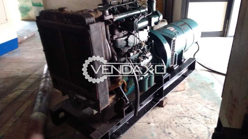 Used Kirloskar RB33 Diesel Generator - 30 Kva for Sale at