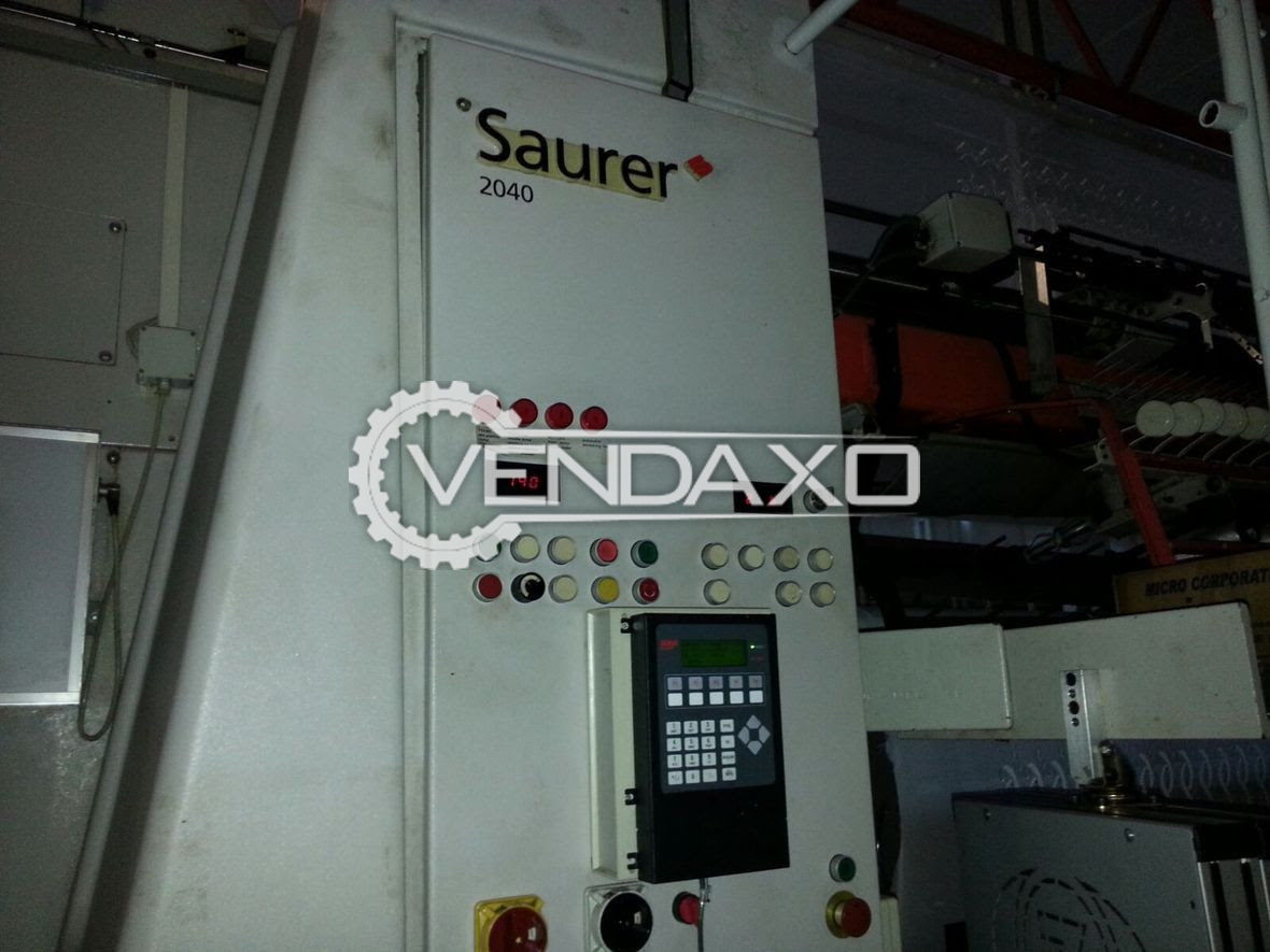 SAURER 2040 Embroidery Machine - 1416 Needles