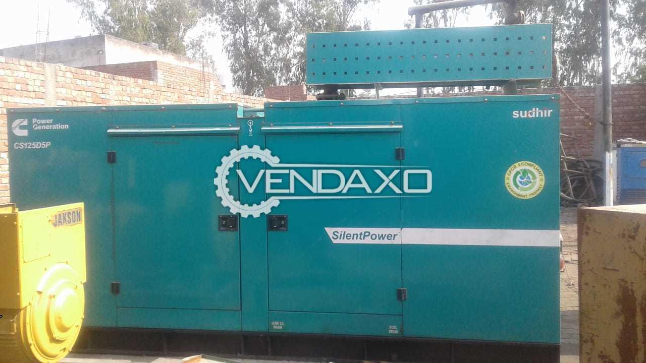 Cummins Diesel Generator - 125 Kva , 2015 Model