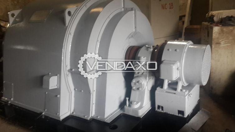 AEG DG 139/4 Synchronous Alternator - 3000 Kva , 2400 KW