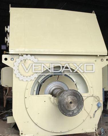 ALSTOM Synchronous AC Generator - 11125 Kva