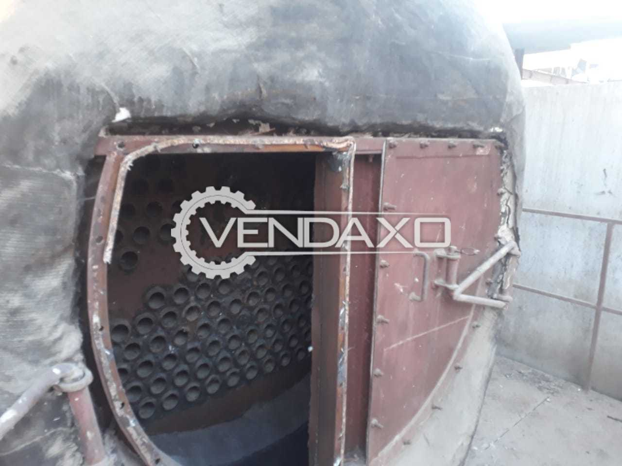 Coal and Wood Type Steam Boiler - 3 Ton With Chimney