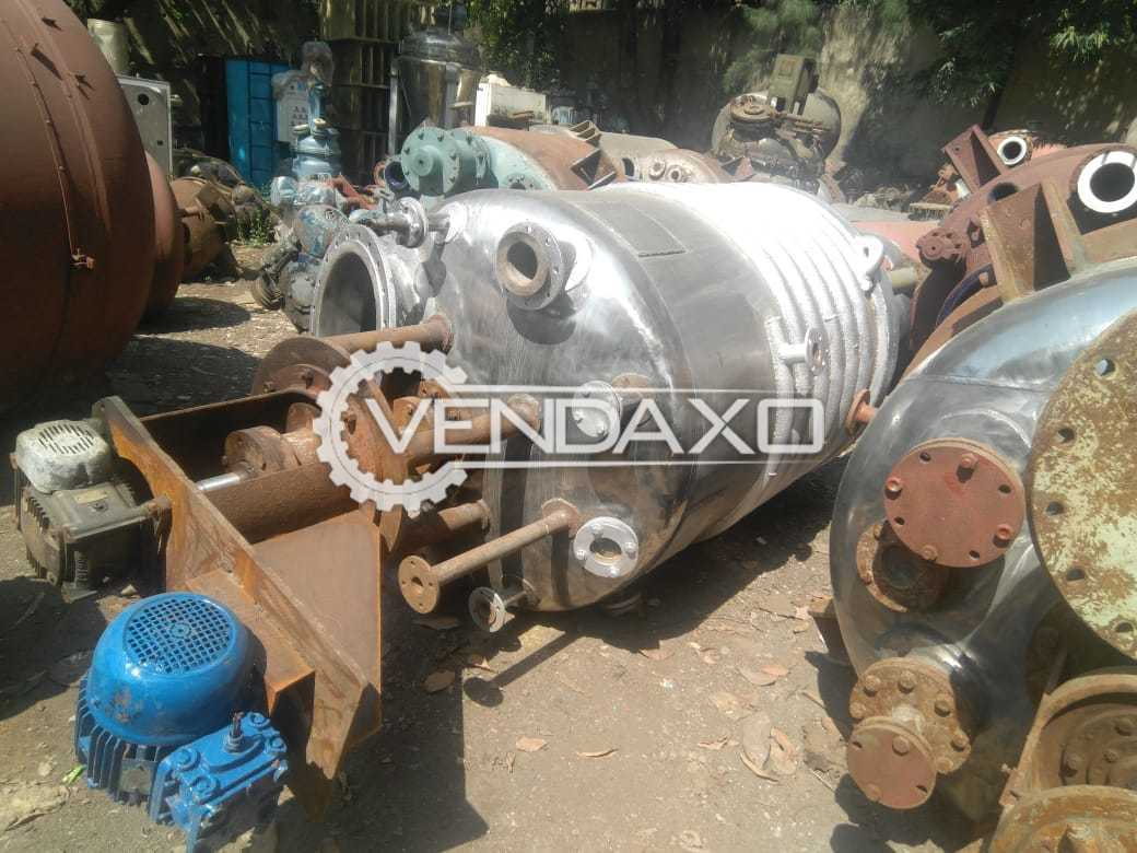 Mixing Vessel With Ms Limped - 2 KL