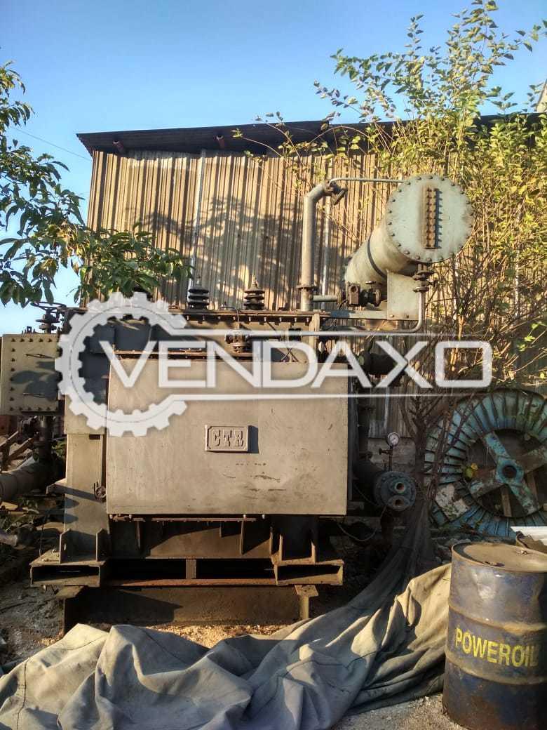Kirloskar Transformer - 4000 Kva , 11000 V / 70 to 140 V