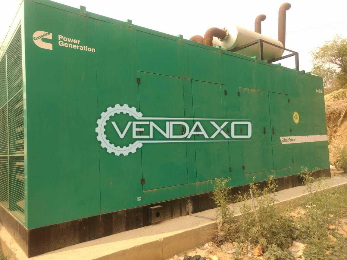 Cummins Diesel Generator - 700 Kva , 2017 Model