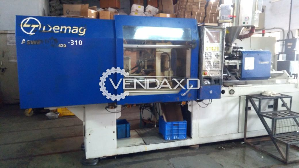 L&T Demag Injection Moulding Machine - 100 Ton