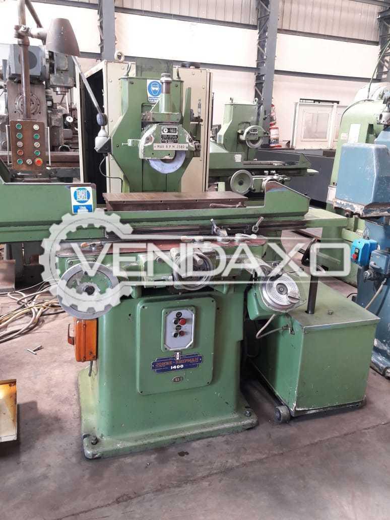 Jones & Shipman 1400 Surface Grinder Machine - Grinding Size - 200 mm x 610 mm