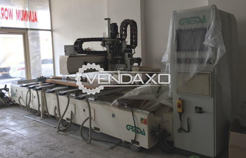 GREDA SIRIO 3A AT 3214 CNC Router Machine - Panel dimension - 2840 x 1340 mm