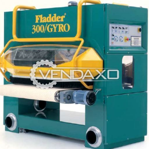 FLADDER 300/GYRO BRUSH SENDER Machine - Width - 2300 mm