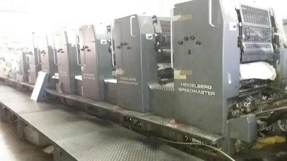Heidelberg SM 72 S L With Coater Offset Printing Machines