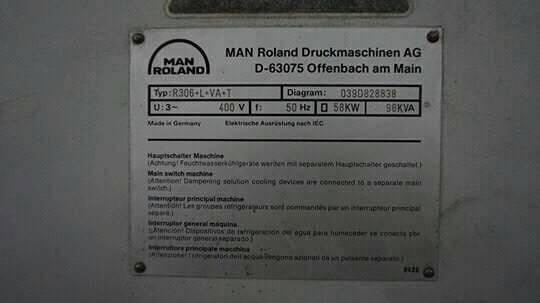 Man roland r306 3