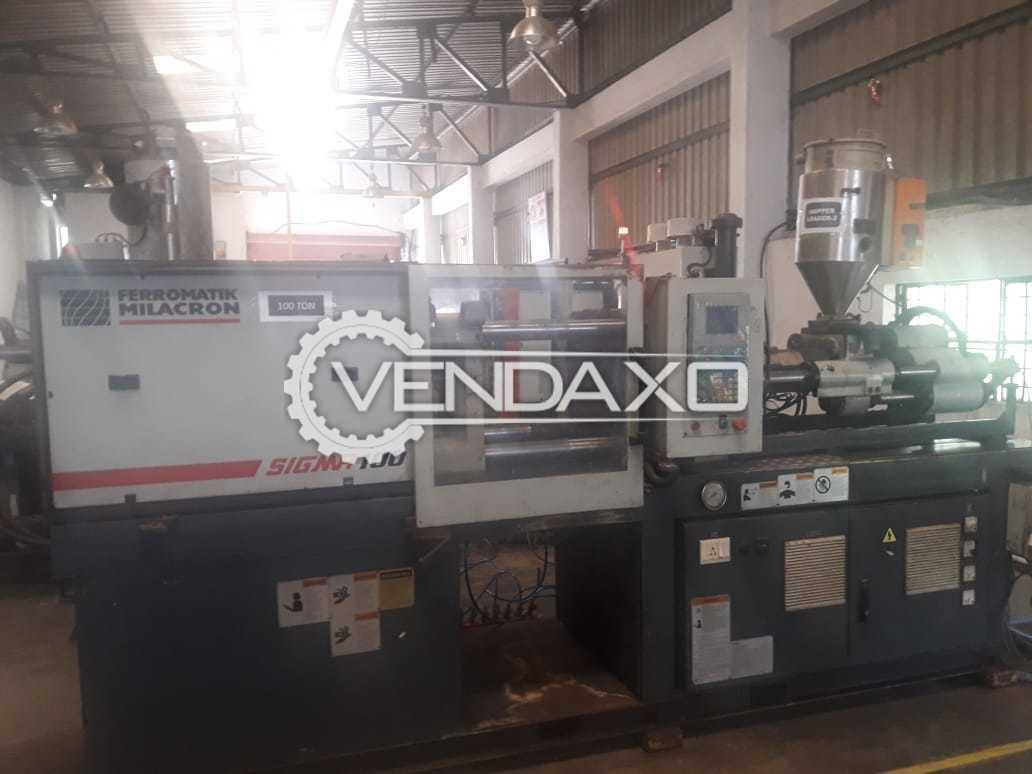 Ferromatik Milacron Sigma 100 Injection Moulding Machine - 100 Ton