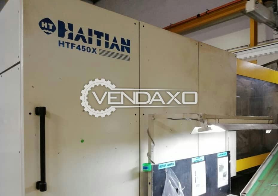 HAITIAN HTF-450X Injection Moulding Machine - 450 Ton