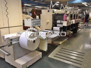 NILPETER F-280 Flexo Label Printing Machine - 5 Color