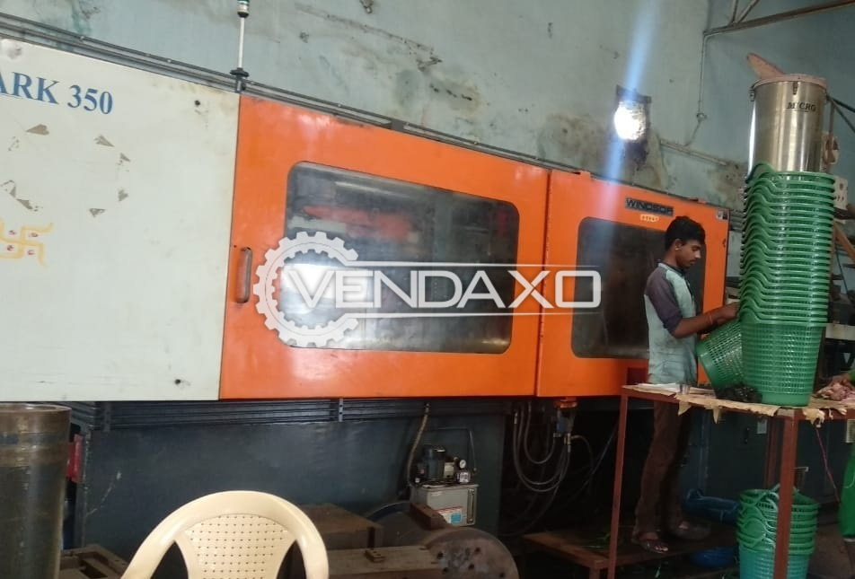 Windsor Injection Moulding Machine - 350 Ton