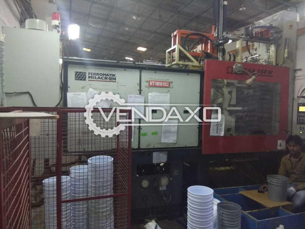 Ferromatik Milacron Omega 350 W Injection Moulding Machine - 350 Ton