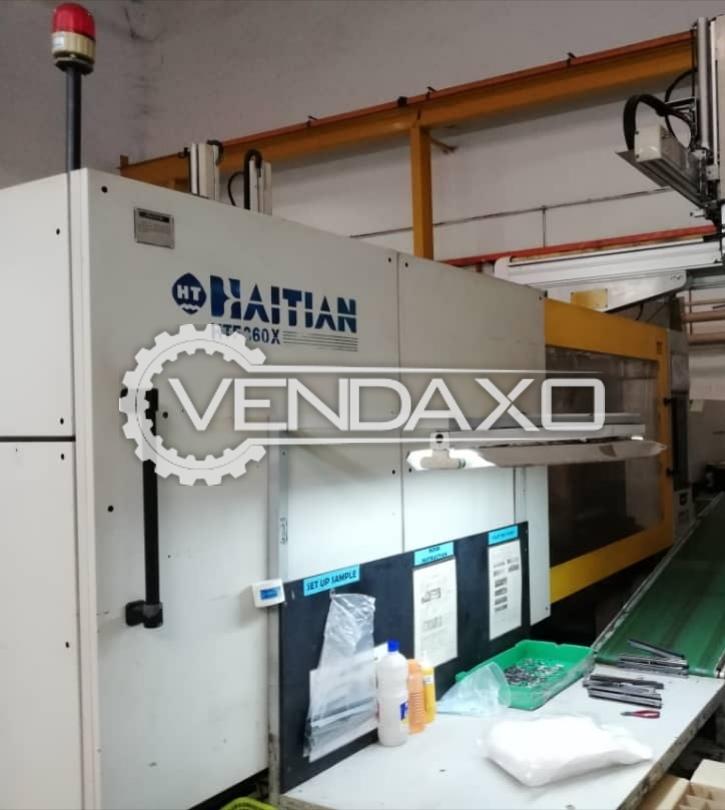 HAITIAN HTF-360X Injection Moulding Machine - 360 Ton
