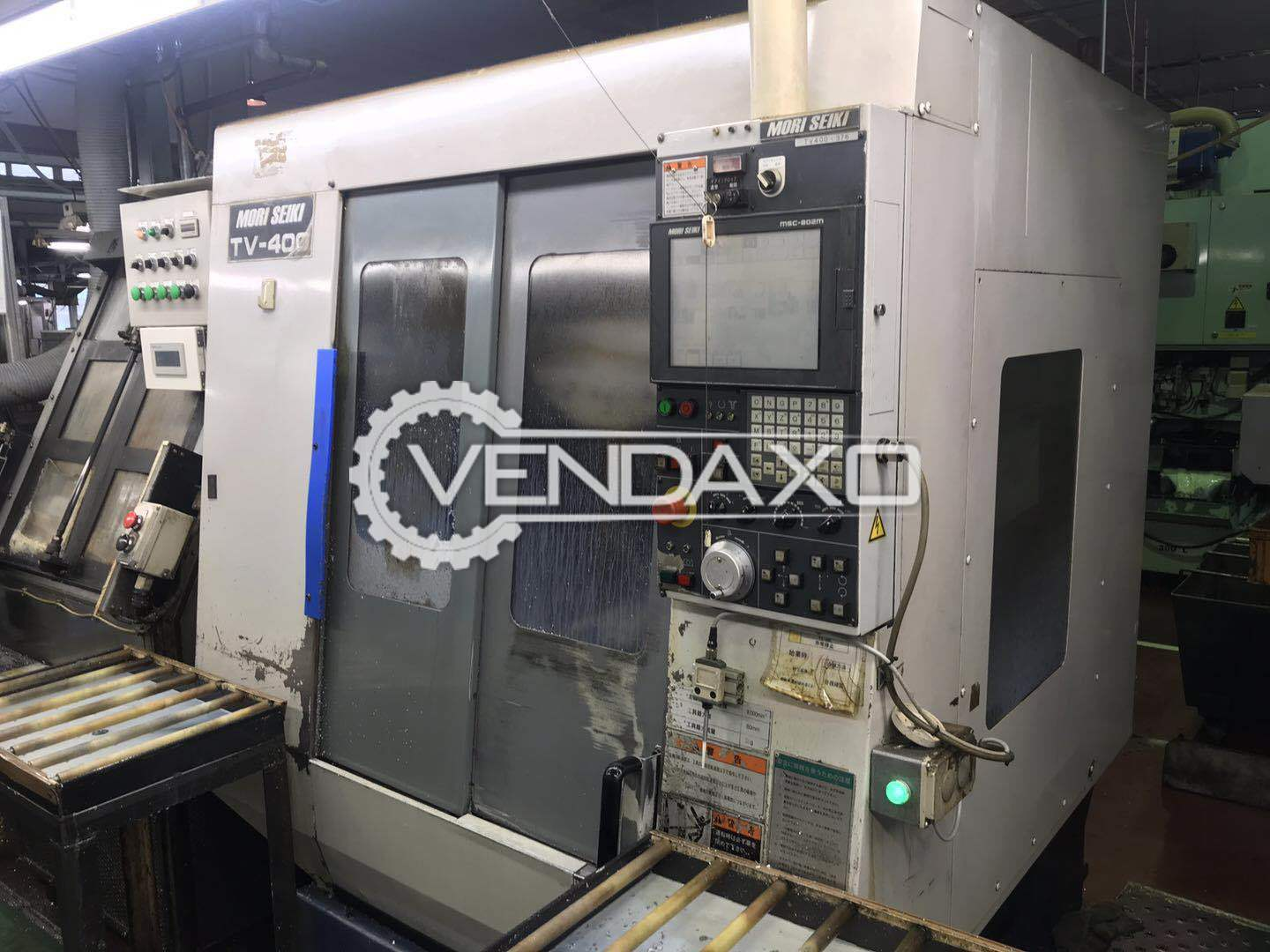 MORISEIKI TV-400 CNC Vertical Machining Center - Table Size - 700 x 400 mm