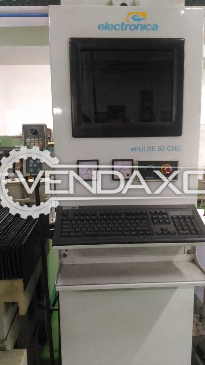 ELECTRONICA ePULSE 50 CNC Electro Discharge Machine (EDM) - 300 x 400 x 450 mm