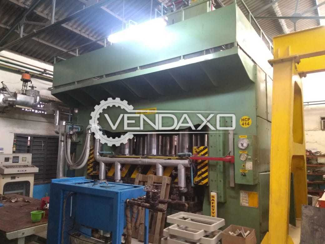 Available For Sale Bemco Hydraulic Double Action Press - 1500 Ton