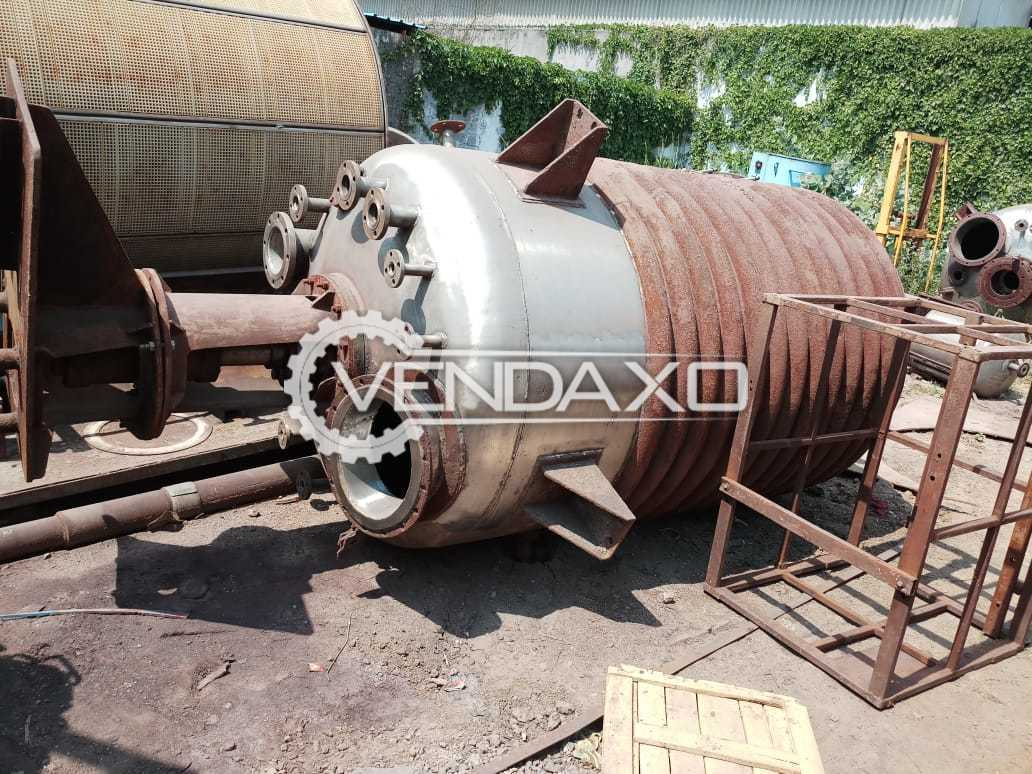 Dryer - 3 KL SSR With Limpet and Internal Coil