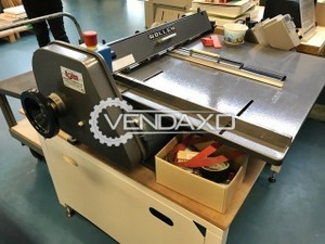 Rollem A700 Paper Cutting Machine - Size - 700 x 900 mm