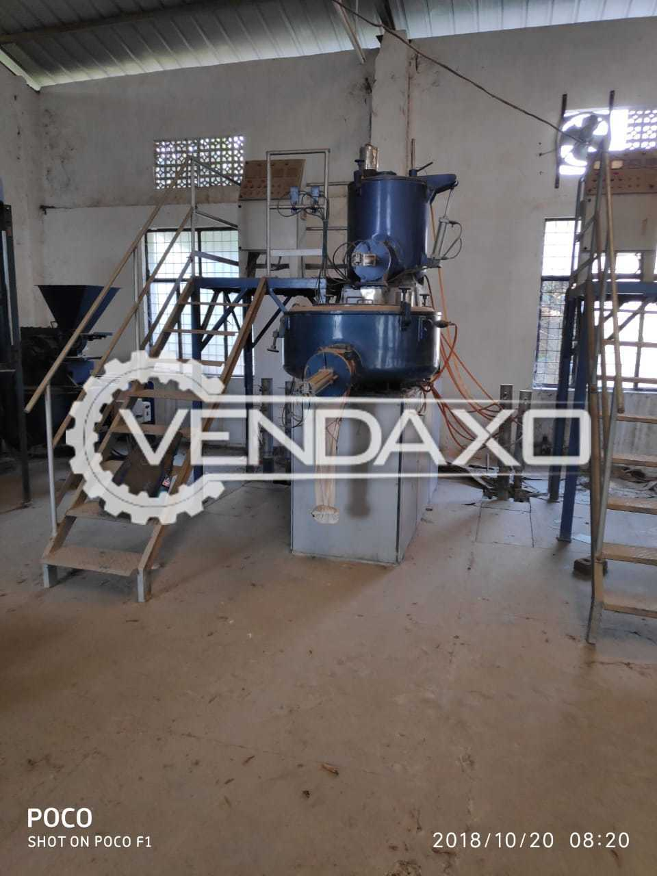 HIgh Speed Hot And Cool Double Stage Mixer - 200 to 250 Kg Per Hour