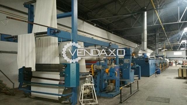 MiKwang Megatex III Stenter - Working Width - 2.05 Meter